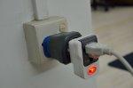 Urządzenie podłączone do gniazdka